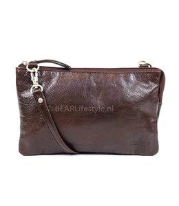 Bear Design Geldbörse Tasche / Umhängetasche Uma RO30996 Braun