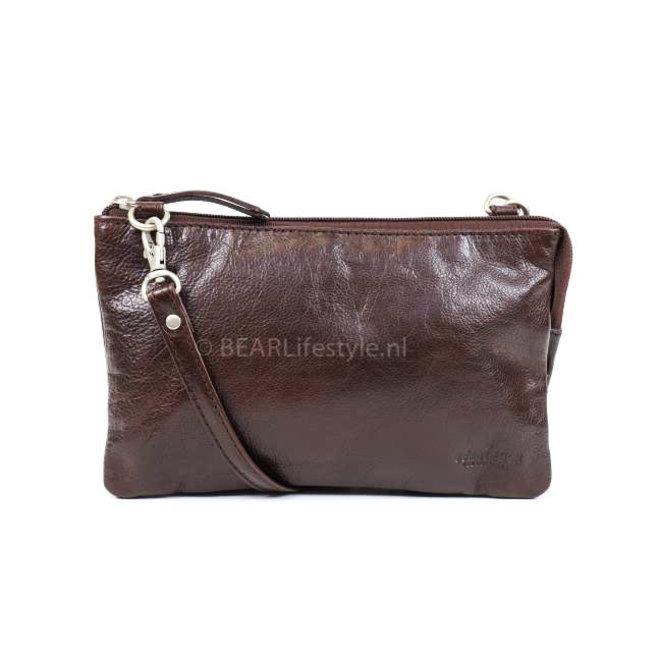 Geldbörse Tasche / Umhängetasche Uma RO30996 Braun