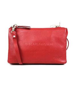 Bear Design Geldbörse Tasche / Umhängetasche Uma B30996 Rot