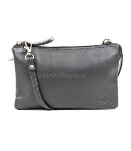 Bear Design Portemonnee tasje XL 'Uma' - Grijs B30996