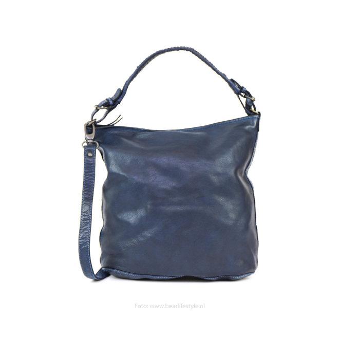 Schoudertas 'Tess' Blauw CL32851