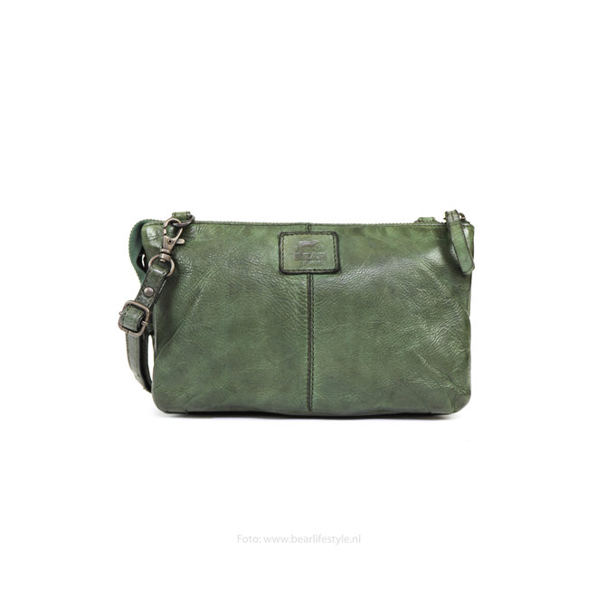 Portemonneetasje 'Uma' - Groen CL30996