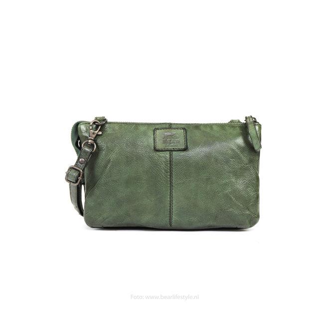 Portemonnee tasje 'Uma' - Groen CL30996