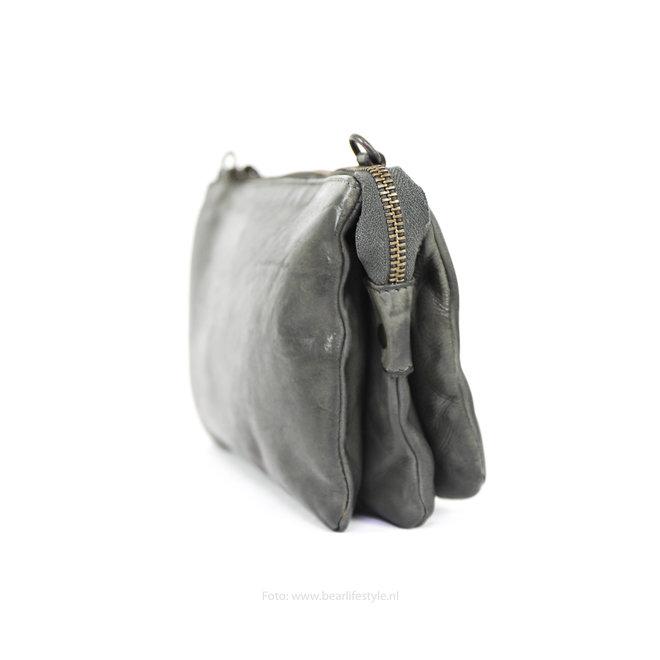 Geldbörse Tasche / Umhängetasche Uma CL30996 Grau