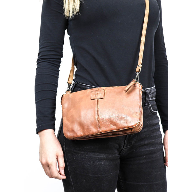 Portemonnee tasje XL 'Uma' - Zwart B30996