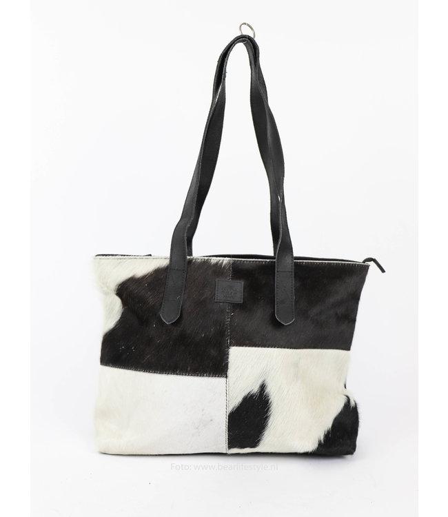 Bear Design Kuh Shopper 'Linda' Medium Schwarz HH32638