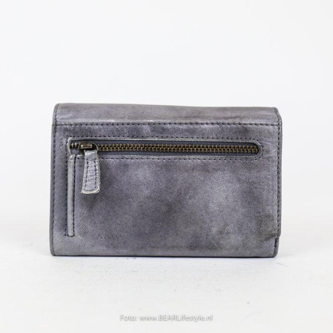 Kleine dames portemonnee - CL 15572 Steel