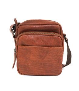Bear Design Unisex tasje - A40148 Cognac