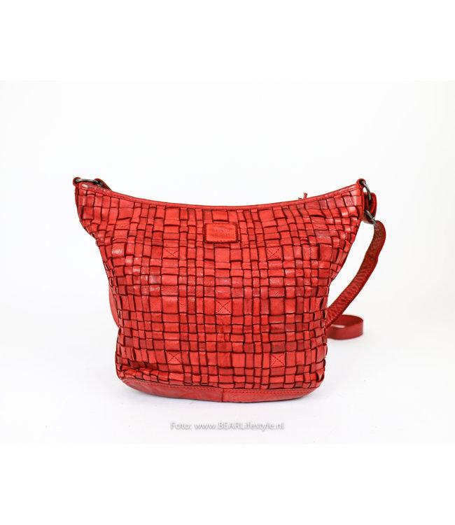 Bear Design Schoudertas 'Tess' Klein - CL 32503 Rood