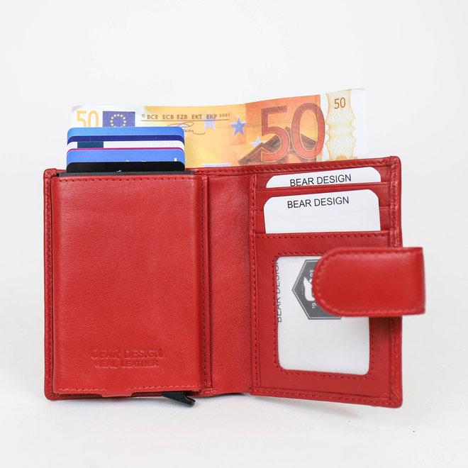 FR15253 Anti Skim Geldbörse Röt Figuretta