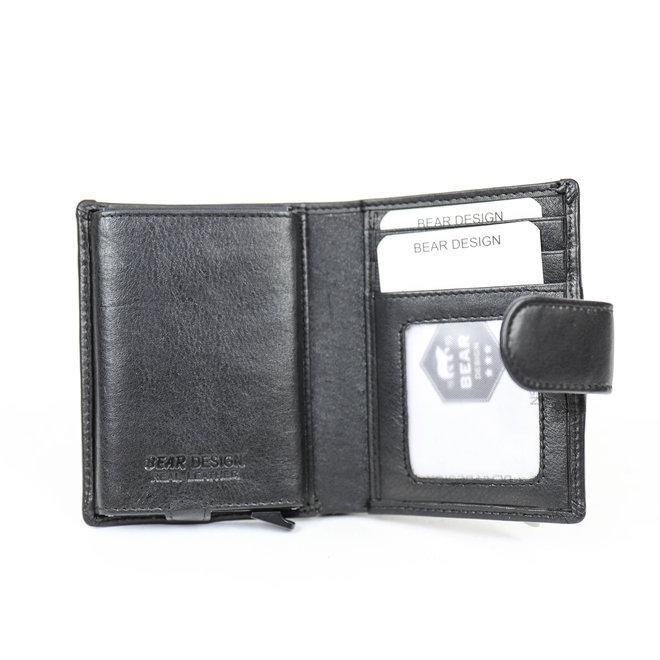 FR15253 Anti Skim Geldbörse Schwarz Figuretta