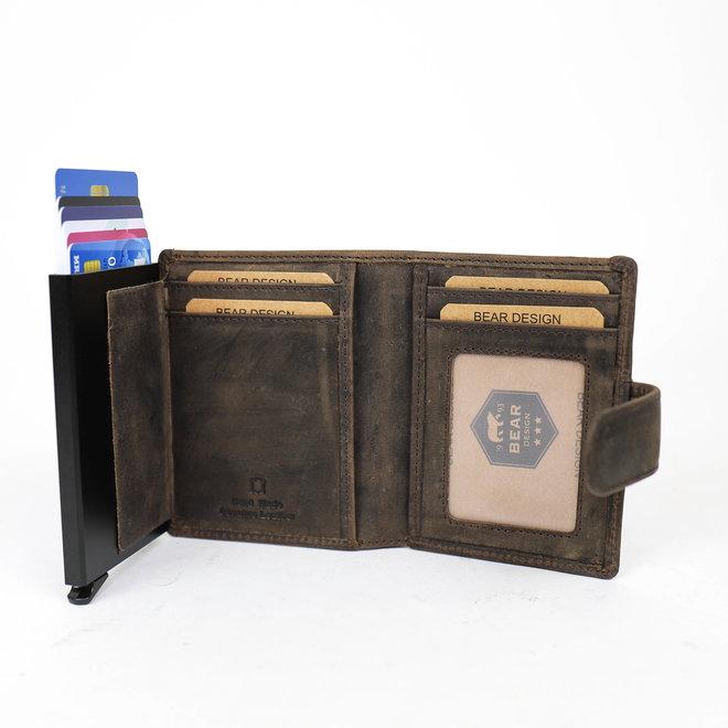 Small Wallet - RFID HD 15635 Bruin