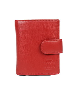 Bear Design FR15253 Anti Skim Wallet Ritsvak - Rood Figuretta