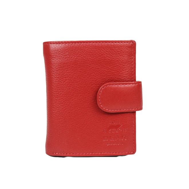 FR15253 Anti Skim Wallet Ritsvak - Rood Figuretta