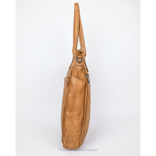 Hand-/Schultertasche Becky CP 1767 Taupe