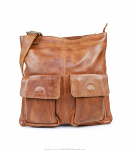 Bear Design Crossbody tas 'Fabia' - Cognac CP2018