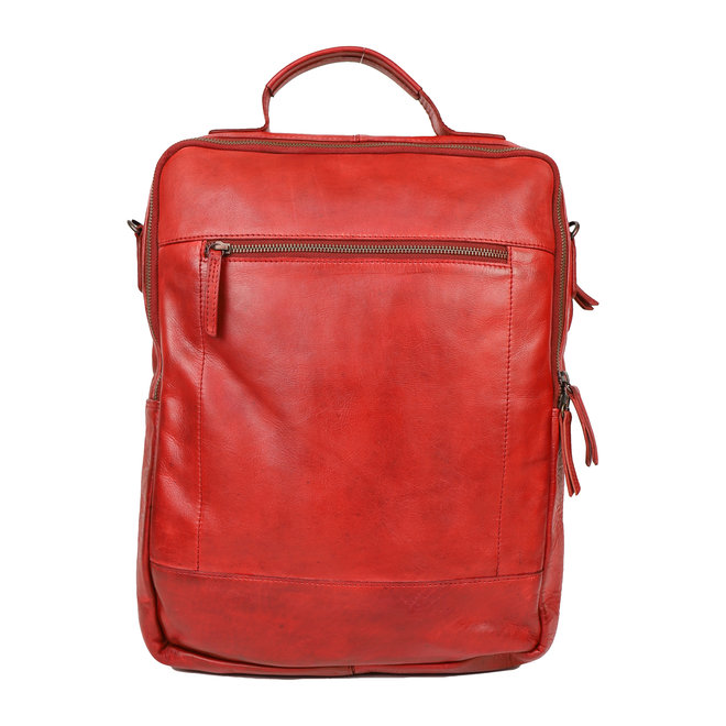 Laptoptas/Rugzak 'Celso' - Rood CL35278