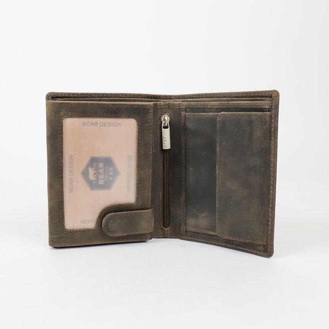 Billfold - Heren portemonnee HD 7252 Bruin