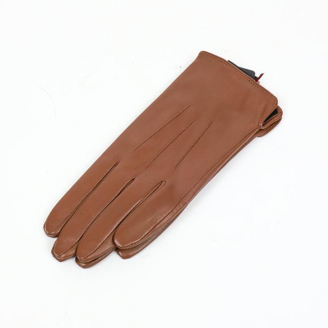 Leder Damenhandschuh Carla - Braun