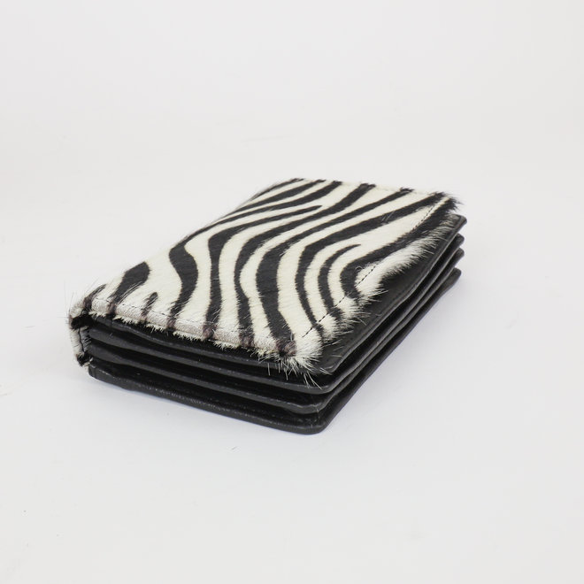Overslag portemonnee - Cow HH10369 Zebra