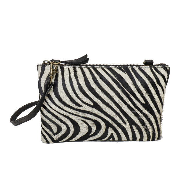 Portemonnee tasje 'Uma' - Zebra