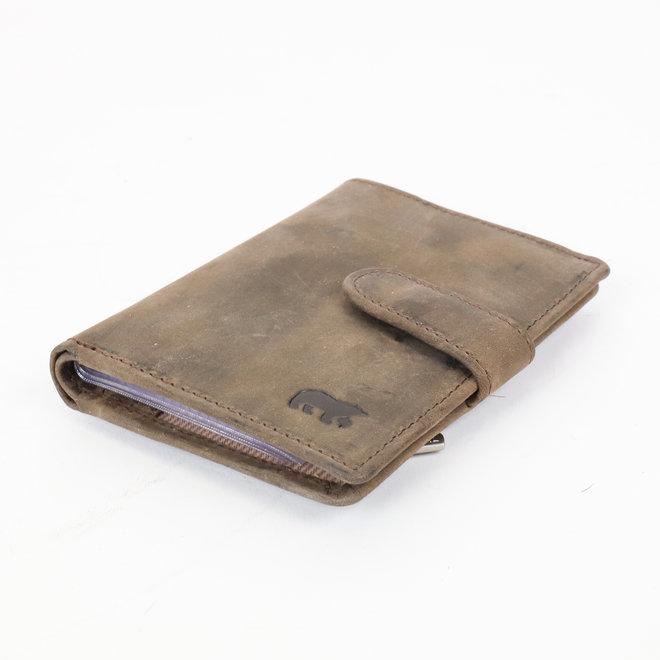 Kartenhalter HD527 RFID Braun