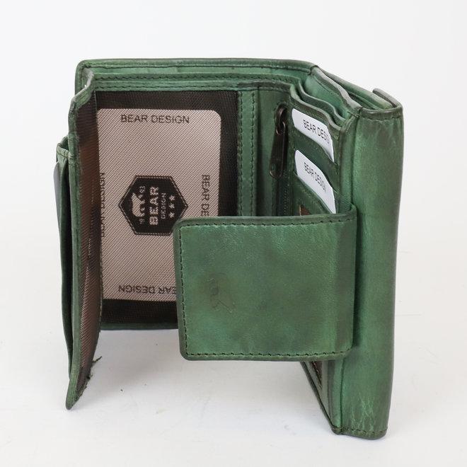 Portemonnee 'Jill' - Olijf groen CL 16211