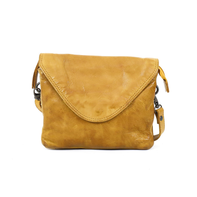 Umschlagtasche 'Mai' - CL 36810 Okergelb