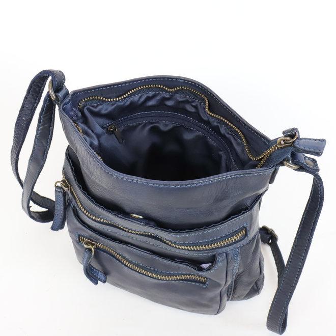 Schultertasche 'Marion' - CL 40496 Blau