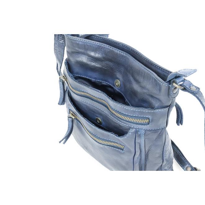 Schoudertasje 'Marion' - CL 40496 Blauw