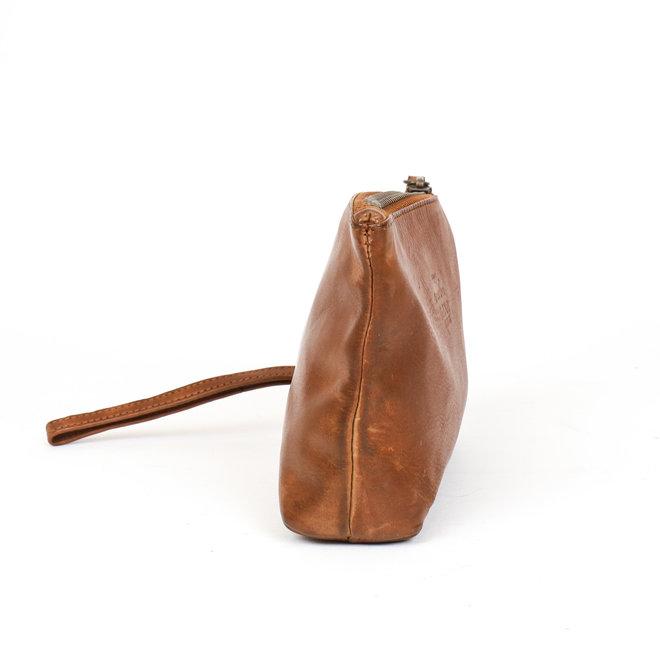 Leder etui - CL 12510 Cognac