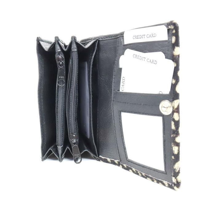 Kleine portemonnee Black Dot - HH 10628