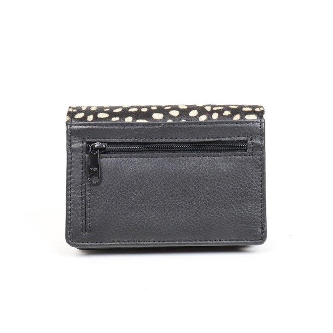 Kleine portemonnee White Dot - HH 10628