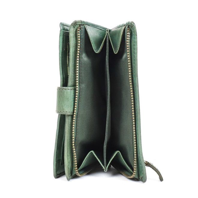 Dames portemonnee 'Studs' - Groen CL 15087