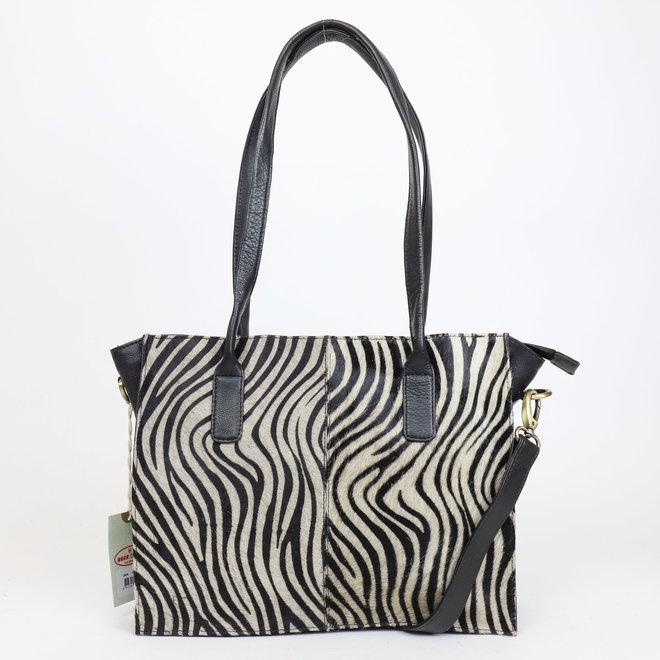 Shopper Zebra - HH 02028 Schwarz