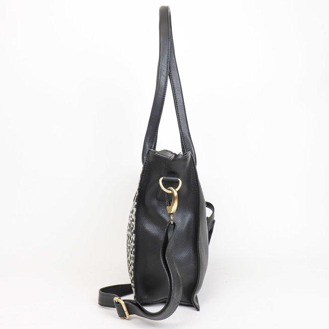 Shopper Black Dot - HH 02028 Zwart