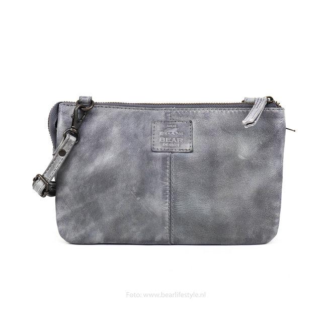 Portemonnee tasje 'Uma' - Steel CL30996