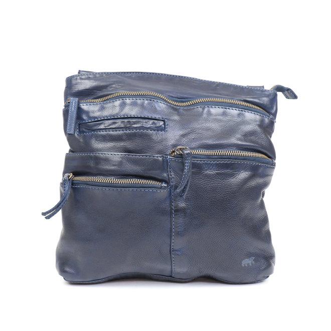 Schoudertasje 'Yara' Blauw CL 40523