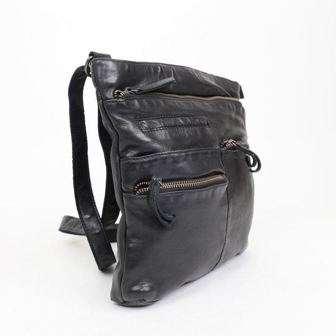 Schoudertasje 'Yara' Zwart CL 40523