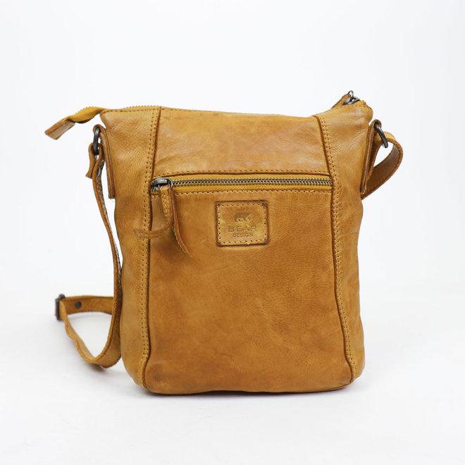 Klein schoudertasje 'Veerle' CL 40479 Geel
