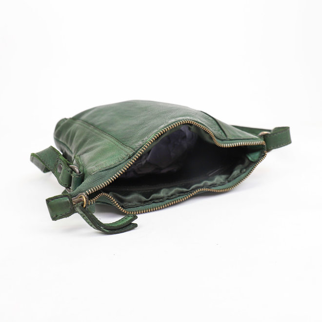 Klein schoudertasje 'Veerle' CL 40479 Groen