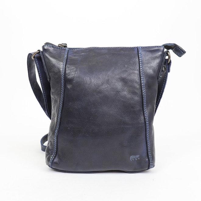 Kleines Schultertasche 'Veerle' CL 40479 Blauw
