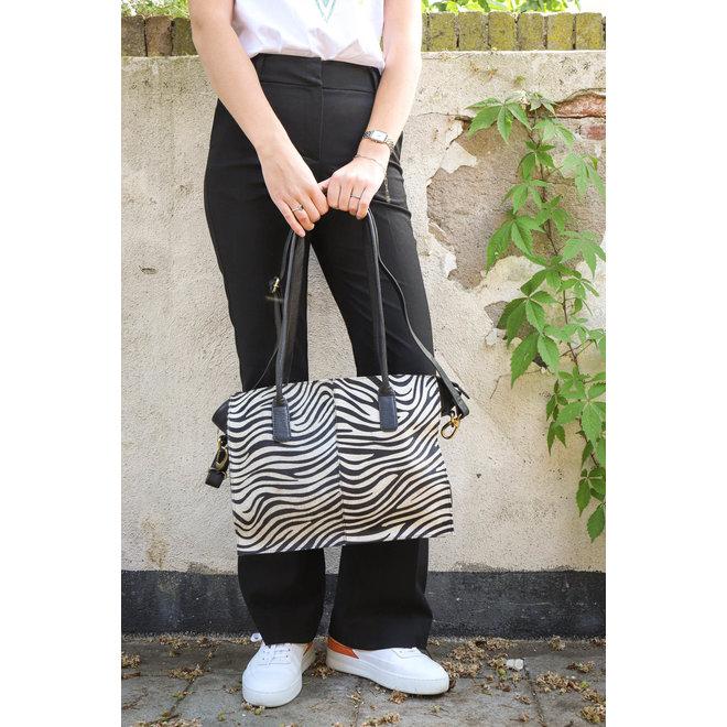 Shopper Zebra - HH 02028 Zwart