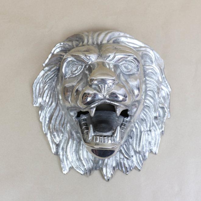 Wanddecoratie Leeuw - Ijzer