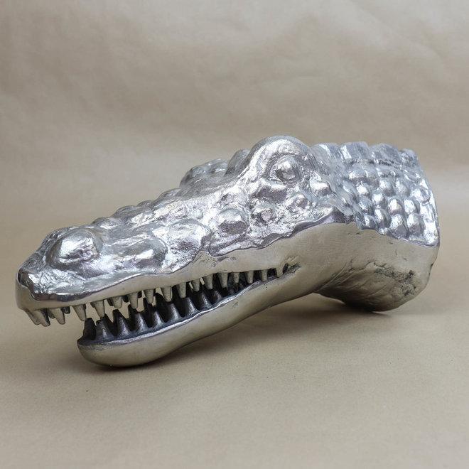 Wanddecoratie Krokodil - Ijzer