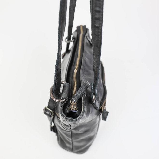 Rucksack / Umhängetasche 'Sandy' - Schwarz CL 40273