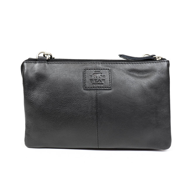 Geldbörse Tasche / Umhängetasche Uma B30996 Schwarz