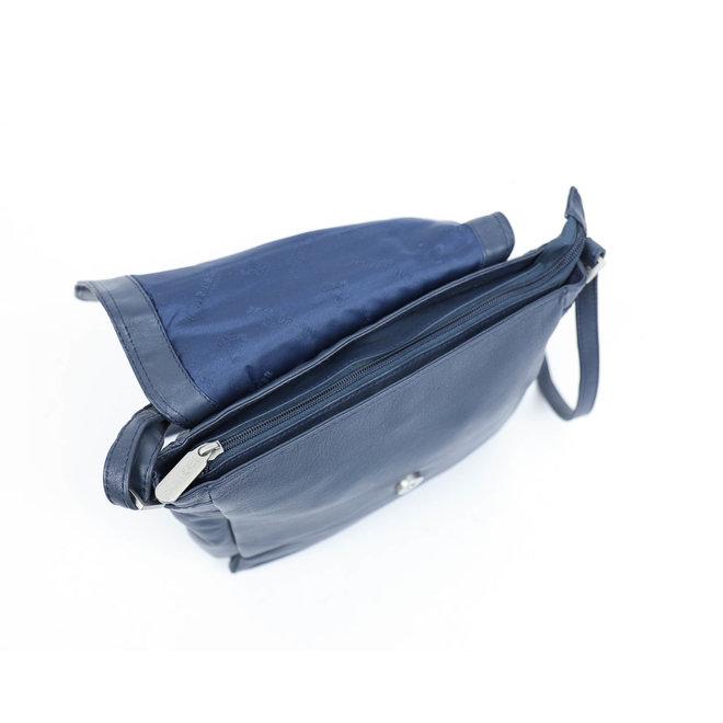 Schoudertas B 4605 Blauw