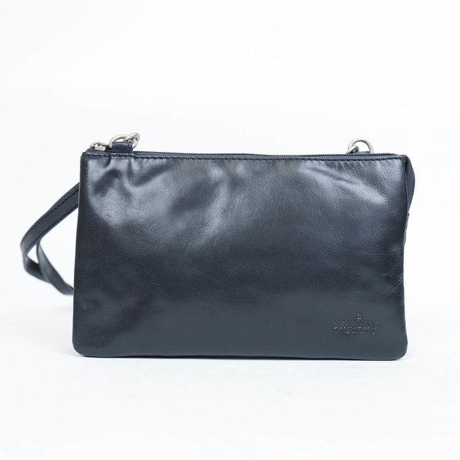 Portemonnee tasje  'Uma' -Donkerblauw RO30996