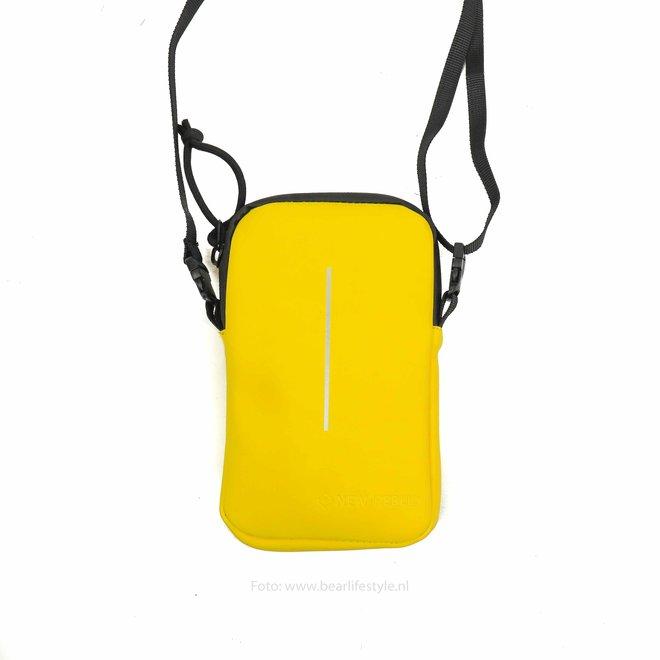 Waterafstotende 'Mart' Phonepocket - Geel